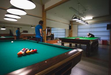 Biljardi ja Snooker Vaasan Tennis Centerissä